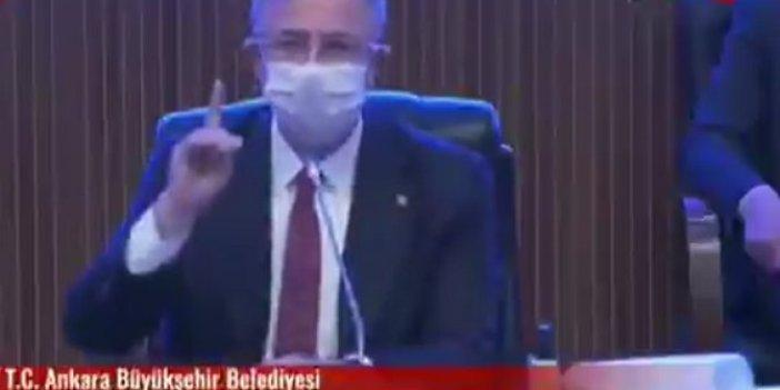 AKP ve MHP öyle bir şeye ret verdi ki... Mansur Yavaş'ı isyan ettirdiler