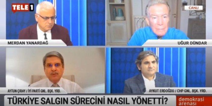İYİ Partili Aytun Çıray canlı yayında açıkladı:  Virüs Türkiye'ye Suudi Arabistan'dan mı geldi?