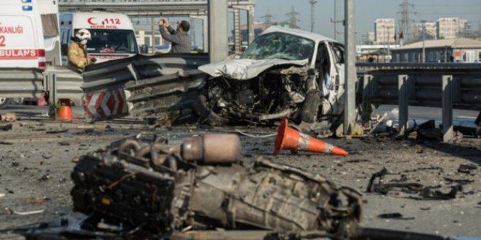 TEM'de feci kaza: Bom boş İstanbul'da bunu başardı!