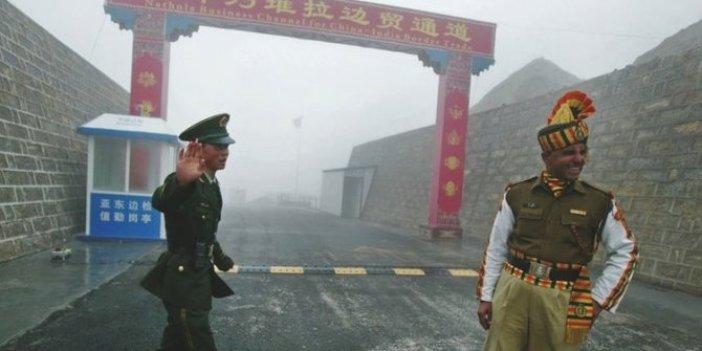 Hindistan ve Çin o eyalet yüzünden savaşın eşiğine geldi