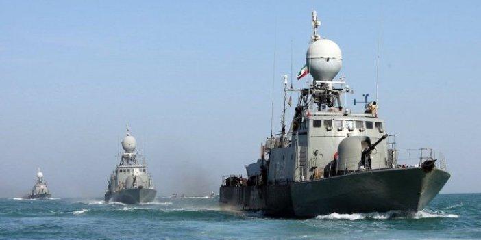 İran Ordusu tatbikatta kendi gemisini vurdu