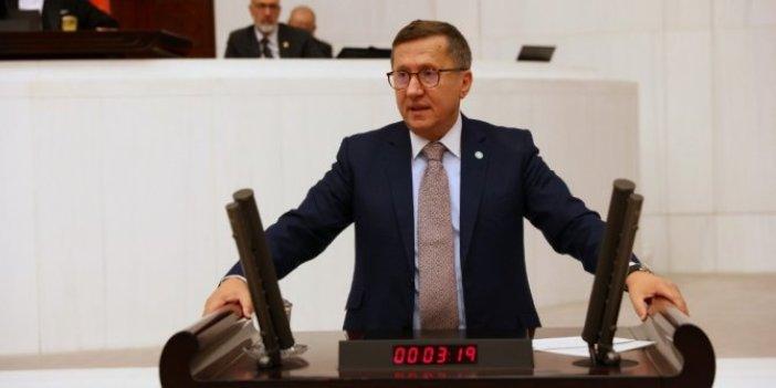 İYİ Partili Lütfü Türkkan'dan Dışişleri Bakanı Mevlüt Çavuşoğlu'na ezan çağrısı