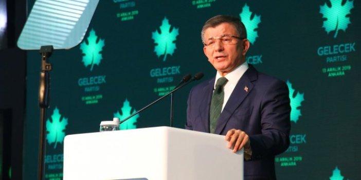Gelecek Partisi Genel Başkanı Davutoğlu: Erdoğan neden Huber Köşkü'nde?