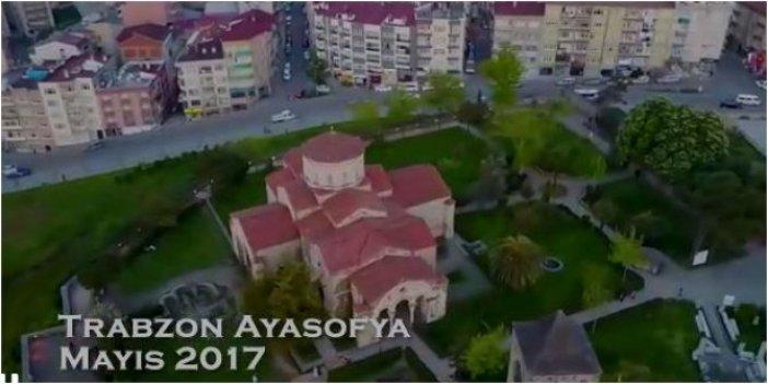 Trabzon Ayasofya Müzesi'nde restorasyon fiyaskosu