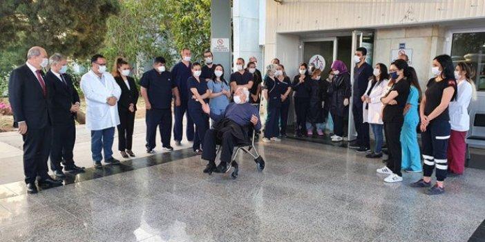 KKTC'de korona tedavisi gören son hasta taburcu oldu