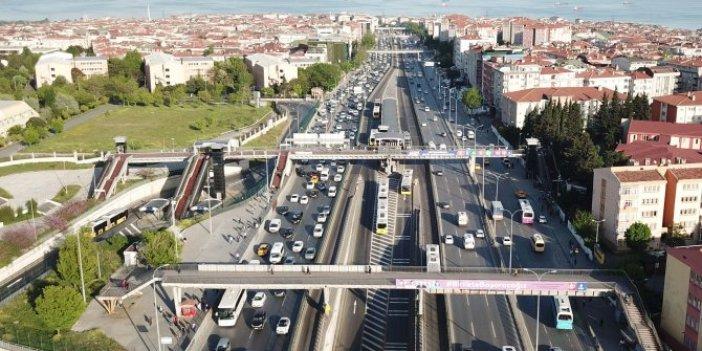 İstanbul'da trafik yoğunluğu yeniden başladı