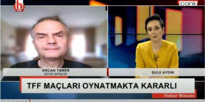 Ünlü spiker Ercan Taner canlı yayında anlattı: İnsanlar, ekonomik kaygılar nedeniyle ses çıkaramıyor