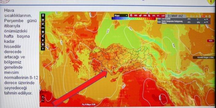 Afrika sıcakları kapıda 1945'ten beri yaşanmadı, Pazar günü o ilde tarihi sıcaklık yaşanacak