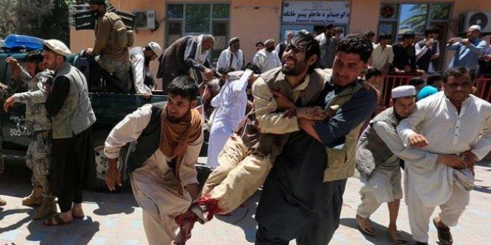 Teröristler kadın doğum hastanesine saldırdı
