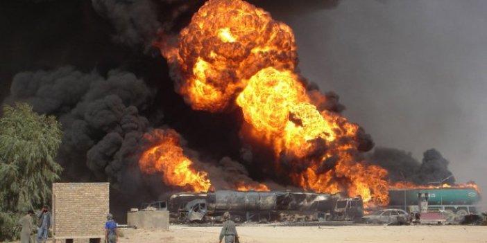 Askeri kampa bombalı saldırı