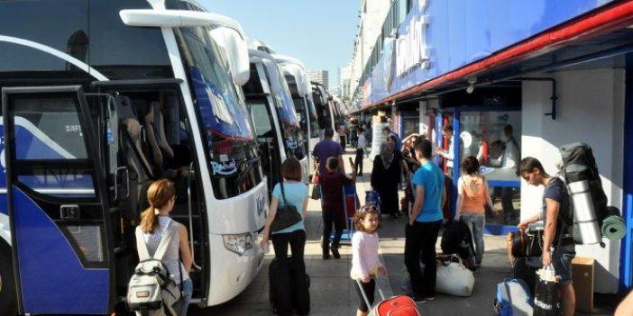 Otobüs fiyatlarına bakanlık ayarlaması