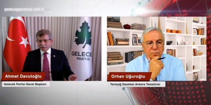 Ahmet Davutoğlu'ndan Suriye itirafı: En çok o konuda eleştiriliyordu
