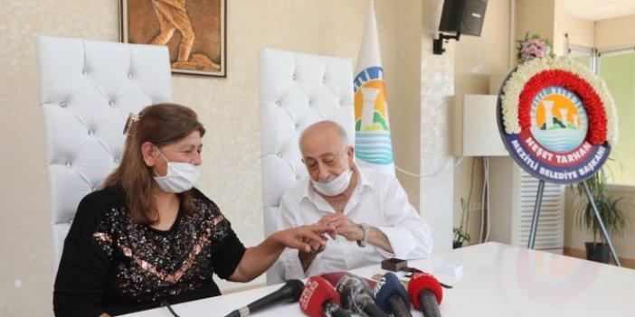 Burhan amca 30 yıl sonra yeniden evlendi