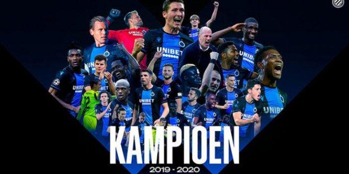 Belçika'da Club Brugge şampiyon ilan edildi!