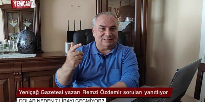 Doların yükseleceğini 3 gün önceden bilen Remzi Özdemir yazdı: Doların gidişatı ne olacak