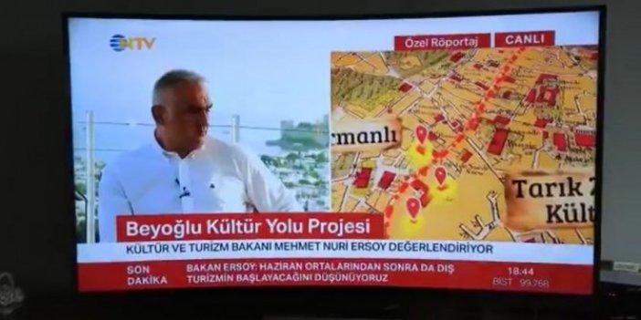 """Bakan Mehmet Nuri Ersoy, İstanbul'un fethini """"işgal"""" olarak nitelendirdi"""