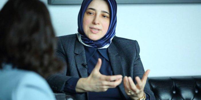 AKP'li kadın vekilden Kaftancıoğlu, Nevşin Mengü ve Berna Laçin'le ilgili açıklama