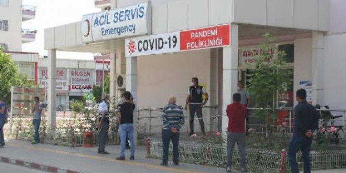 İntihar eden işçinin korona testi pozitif çıktı: Ailesi ve 120 kişi karantinada