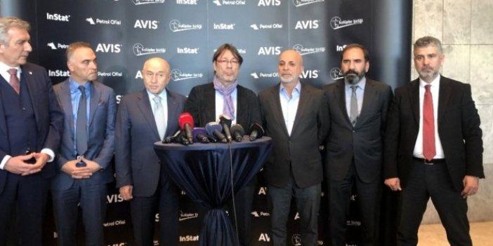 """Kulüpler Birliği Vakfından Mustafa Cengiz'e """"geçmiş olsun"""" mesajı"""