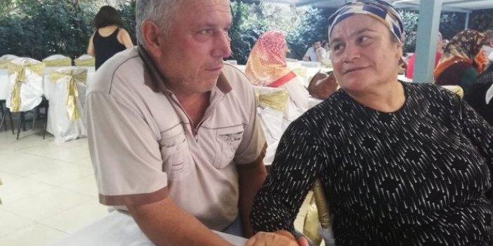 Evli çifti konserve ayırdı