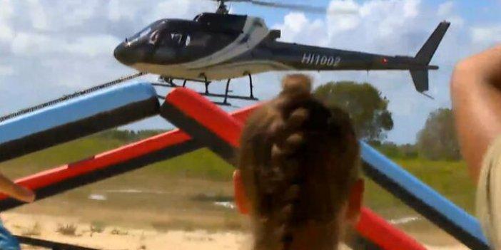 Survivor ödül oyununu kim kazandı? Acun Ilıcalı'dan helikopter sürprizi!
