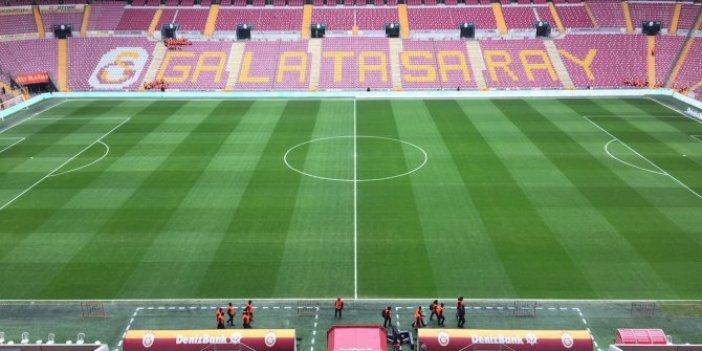 Galatasaray seyircisiz maçlarda stadı dolduracak