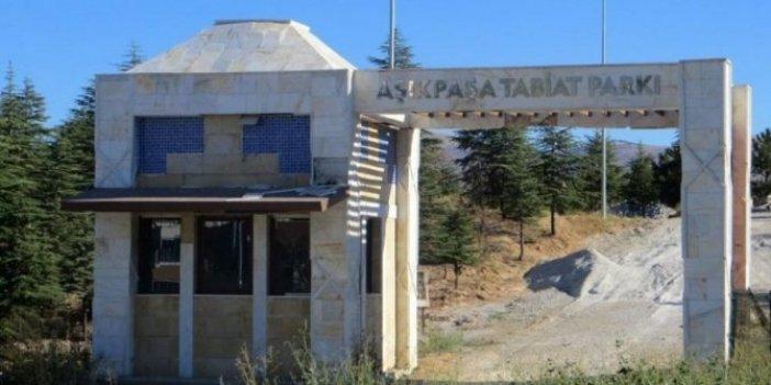 CHP'li belediyeye verilmeyen tabiat parkı düğün salonu oldu