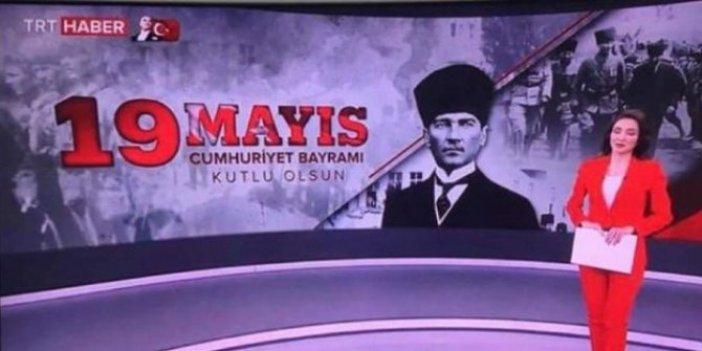 TRT'den skandal hata: 19 Mayıs'ta Cumhuriyet Bayramı'nı kutladılar