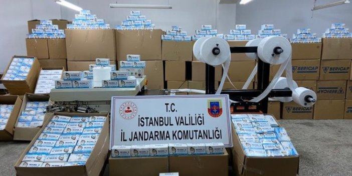 İstanbul jandarmasını şaşırtan baskın