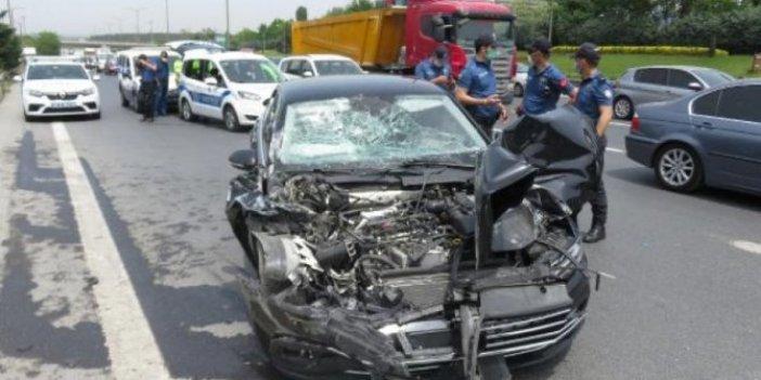 AKP'li vekil trafik kazasında yaralandı