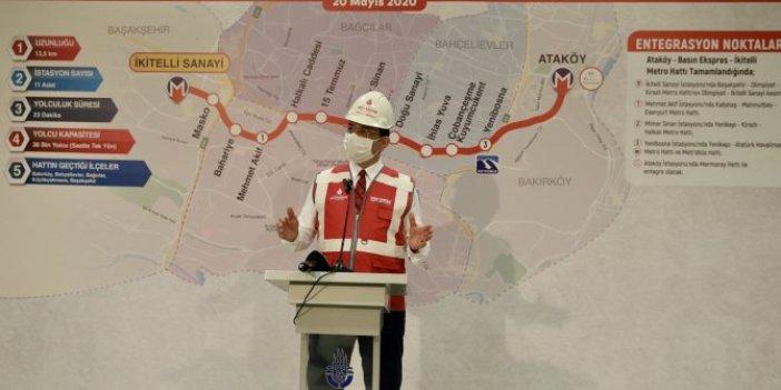 Ekrem İmamoğlu duyurdu: İstanbullulara yeni metro müjdesi