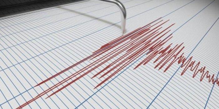 Akdeniz'de 4.4 şiddetinde deprem