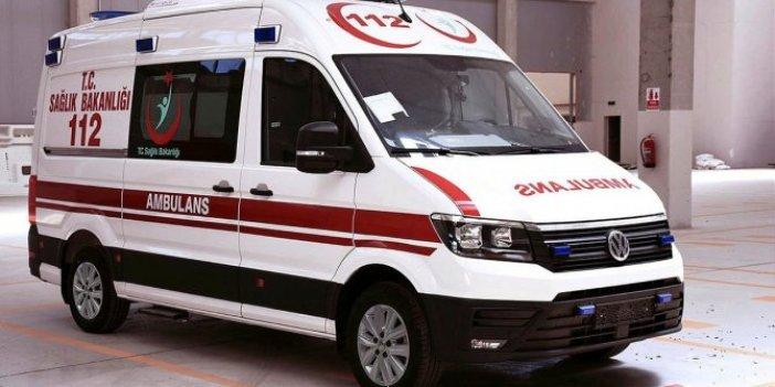 Bunu da gördük: Kiralık ambulansla yazlık operasyonu!
