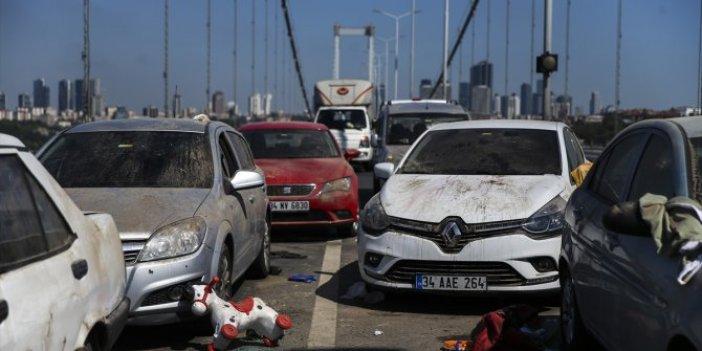 15 Temmuz Şehitler Köprüsü'ne hareketli anlar! Gören gözlerine inanamadı