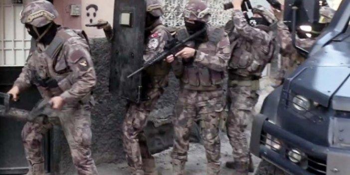 Gaziantep'tehelikopterli 'torbacı' operasyonu
