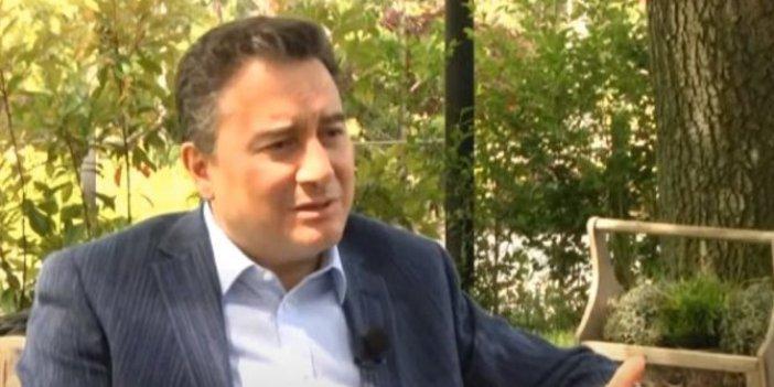 Ali Babacan canlı yayında konuştu