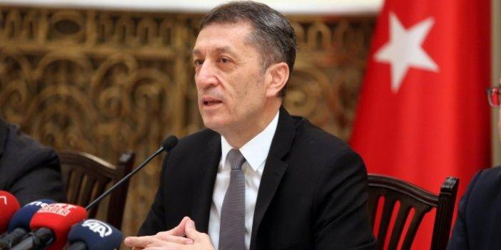 """Milli Eğitim Bakanı Ziya Selçuk """"Yüz yüze eğitim"""" ile ilgili tarih verdi"""