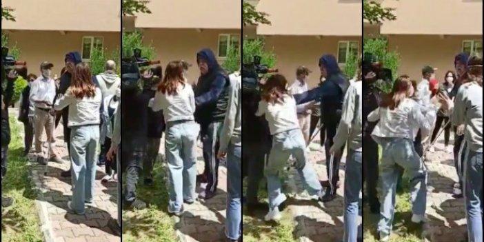 Show TV Haber ekibine saldırı: Kadın muhabir ne yapacağını şaşırdı