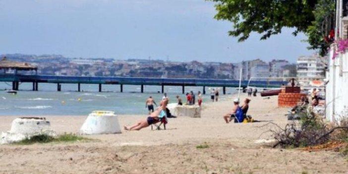 Görüntüler bugün İstanbul'da çekildi: Yasağa rağmen deniz keyfi