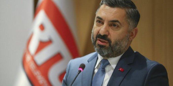 RTÜK'ten sosyal medya paylaşımları için suç duyurusu