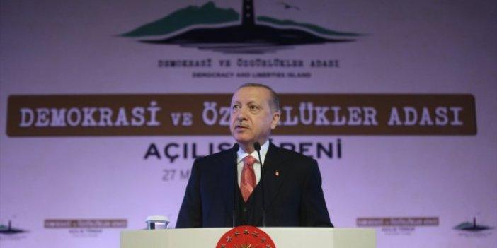 Erdoğan'dan Yassıada'da Alparslan Türkeş mesajı