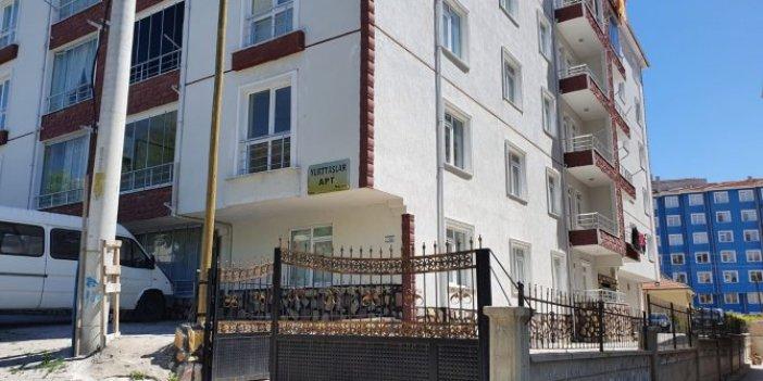 6 katlı binadaki 24 aileye karantina