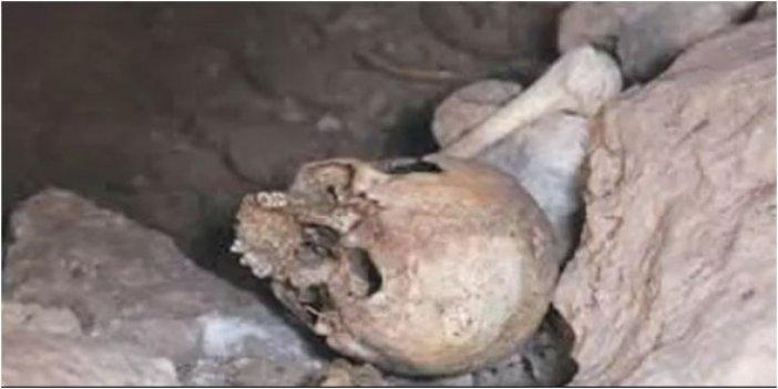 Mağarada bulunan kafatasları hakkında Valilik'ten açıklama