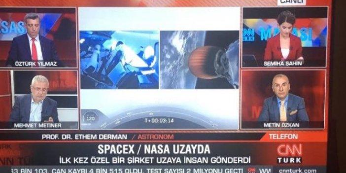 SpaceX uzaya insan yolladı, Mehmet Metiner bakın nasıl yorumladı?