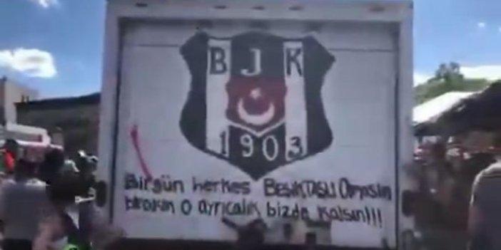 ABD'deki protestolarda bir Beşiktaşlı daha