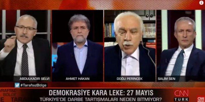 Abdulkadir Selvi ve Doğu Perinçek arasında 'utan' kavgası: Ahmet Hakan canlı yayında dondu kaldı