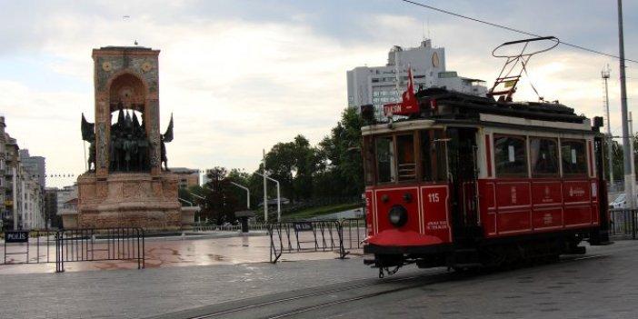Nostajlik tramvay2 ay sonra seferde