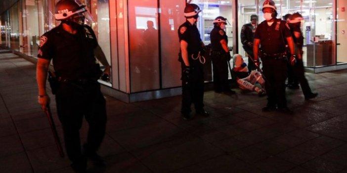 Amerika'da 700 kişi gözaltına alındı