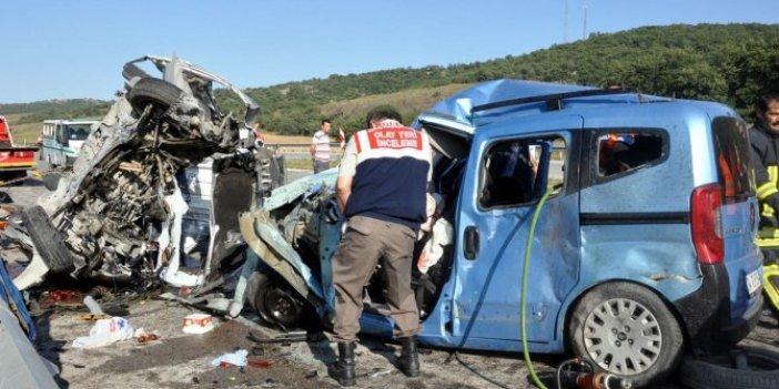 Trafik terörüne 11 yılda 57 bin kurban