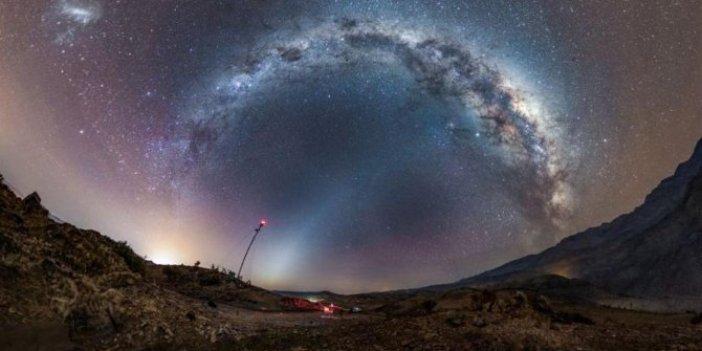 NASA, dünya ile paylaştı: Uzayın derinliklerinden büyüleyen fotoğraf